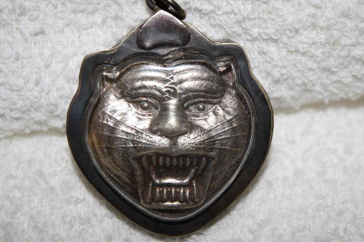 LP Pern tiger amulet. year 1981. 21 year.
